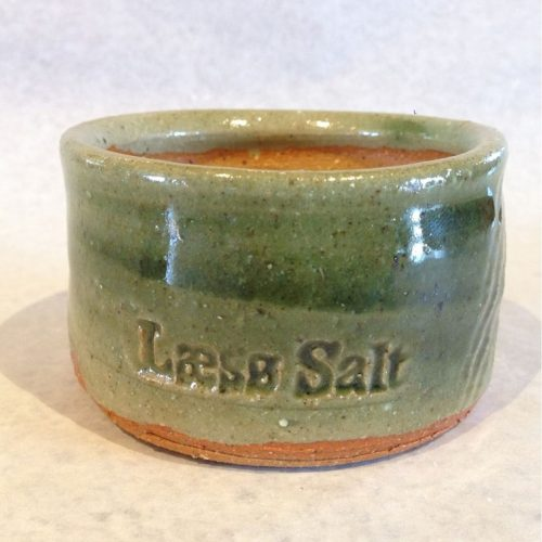 green salt cellar